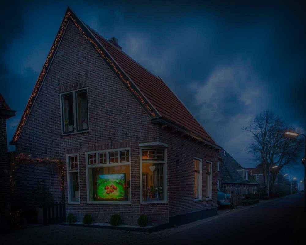 Lichtjuweel van Egmond aan den Hoef, november 2017