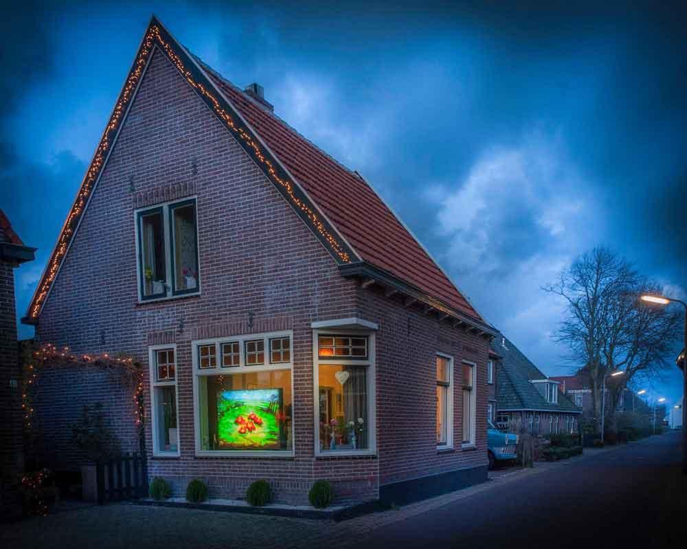 Huis met Lichtjuweel in Egmond aan den Hoef, november 2017